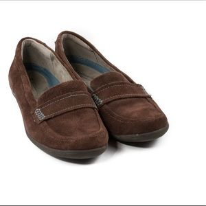Naturalizer Brand Brown Suede Loafers